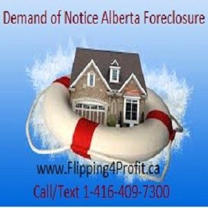 Foreclosure Process of Alberta