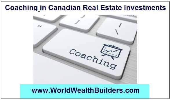 Coaching in Canadian Real Estate Investments