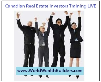 Canadian Real Estate Investors Training LIVE
